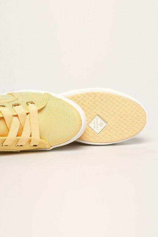 jasny żółty Gant - Tenisówki Leisha