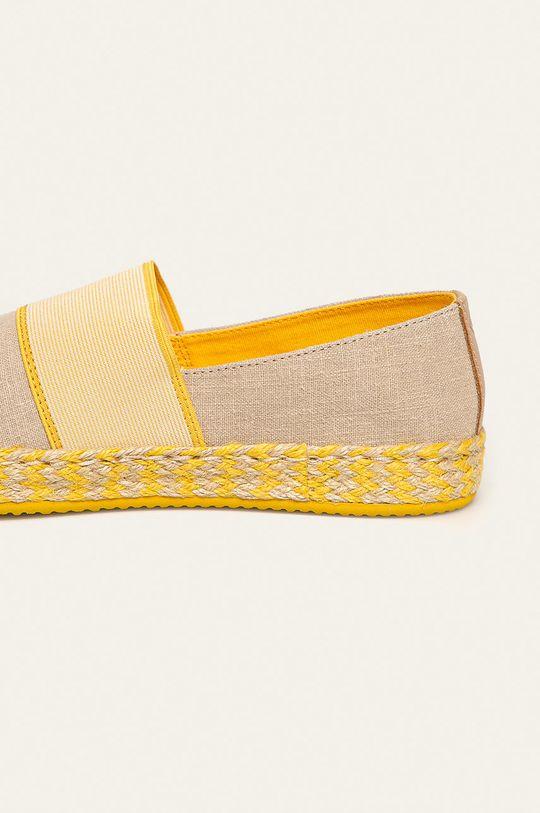 Gant - Espadryle Raffiaville Cholewka: Materiał tekstylny, Skóra naturalna, Wnętrze: Materiał tekstylny, Podeszwa: Materiał syntetyczny