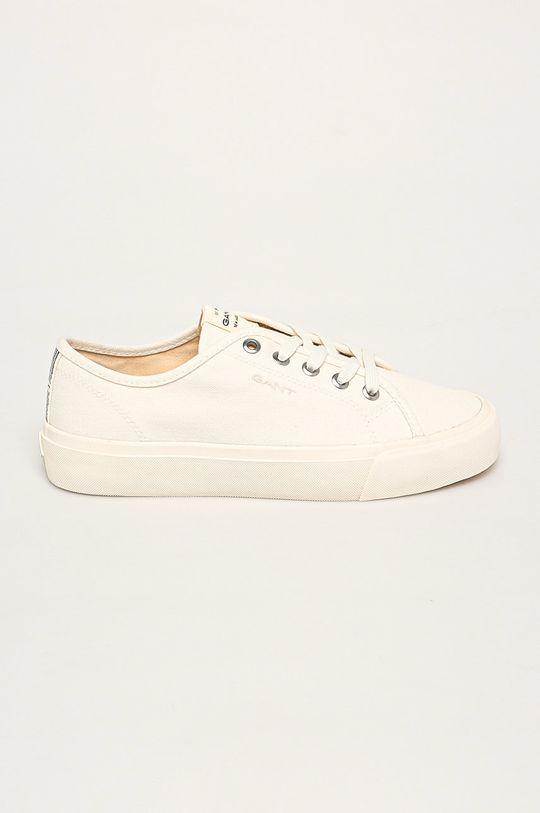 biały Gant - Tenisówki Zanara Damski