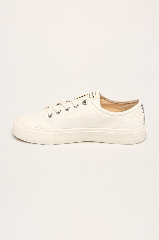biały Gant - Tenisówki Zanara