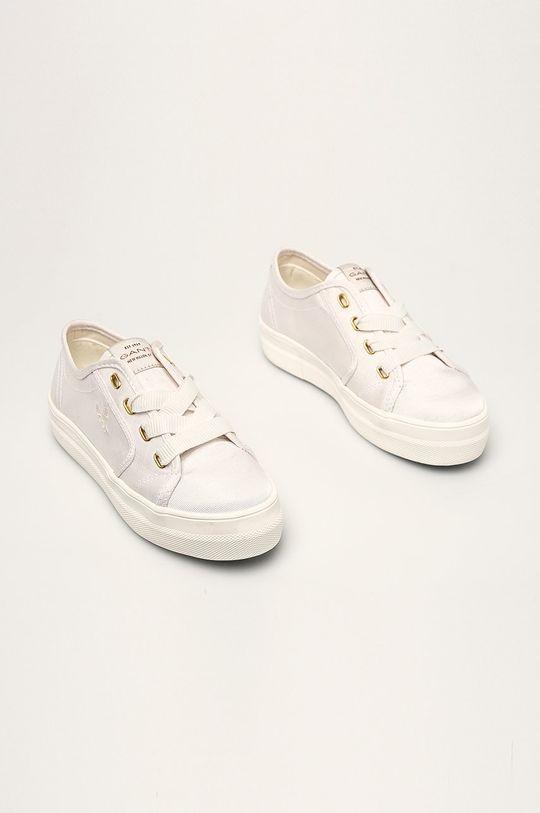 Gant - Tenisówki Leisha biały