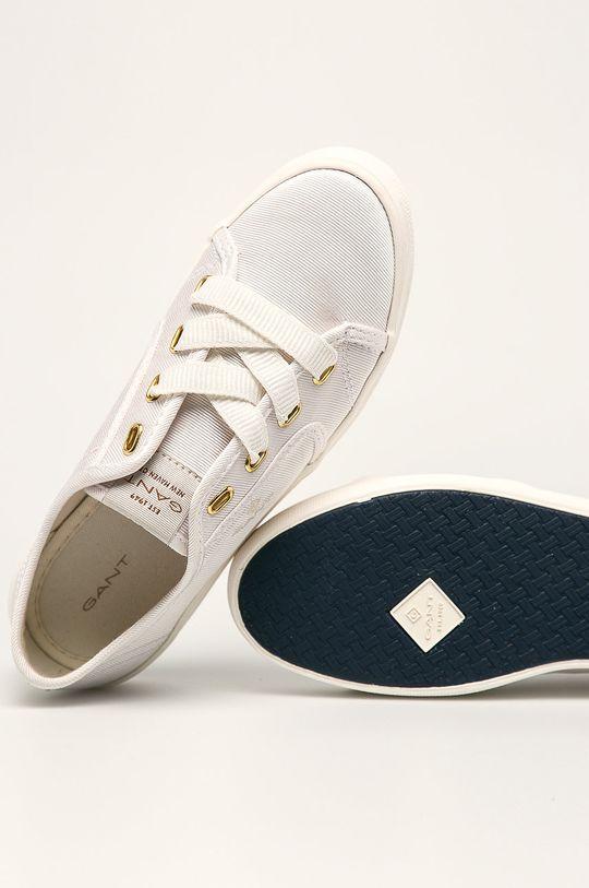 biały Gant - Tenisówki Leisha