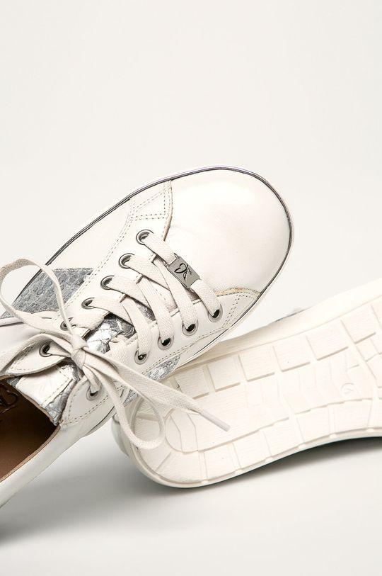 biela Caprice - Kožená obuv
