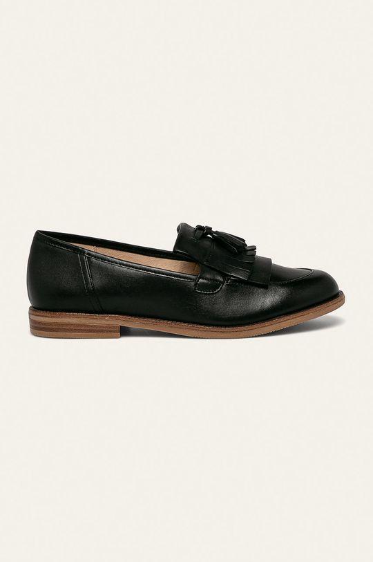 negru Caprice - Pantofi de piele De femei
