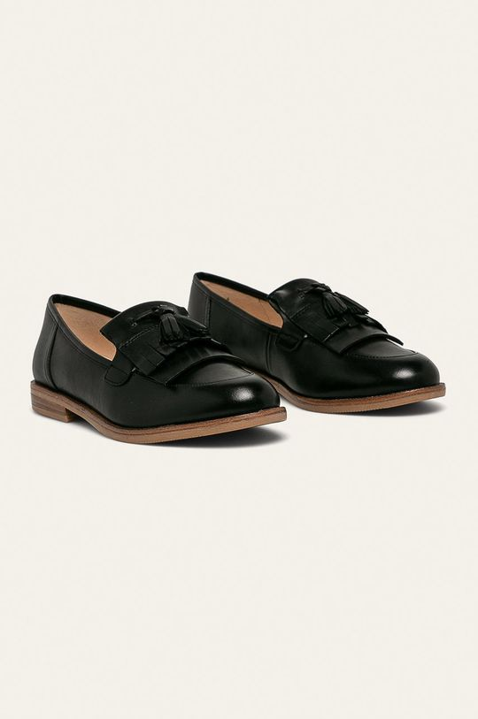 Caprice - Pantofi de piele negru