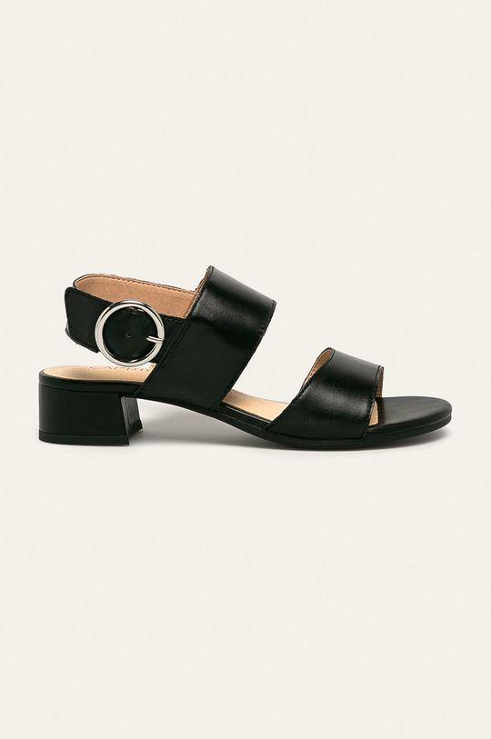 negru Caprice - Sandale de piele De femei