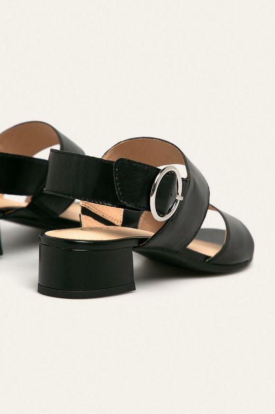 Caprice - Sandale de piele Gamba: Piele naturala Interiorul: Material sintetic, Piele naturala Talpa: Material sintetic