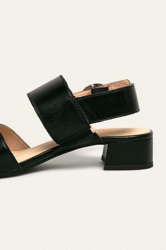negru Caprice - Sandale de piele
