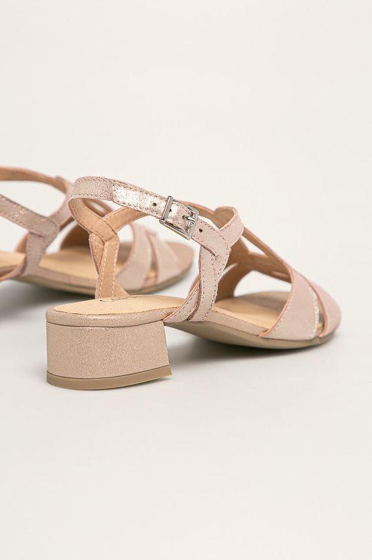 Caprice - Sandale de piele Gamba: Piele intoarsa Interiorul: Material sintetic, Piele naturala Talpa: Material sintetic