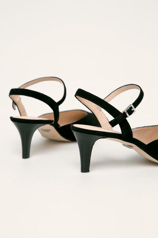 Caprice - Шкіряні туфлі  Халяви: Замша Внутрішня частина: Натуральна шкіра Підошва: Синтетичний матеріал