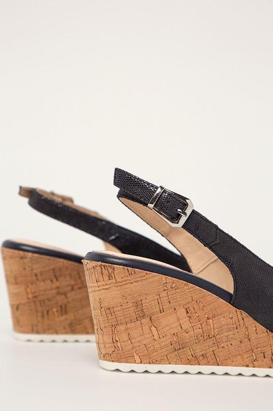 Caprice - Sandały skórzane Cholewka: Skóra naturalna, Wnętrze: Materiał syntetyczny, Skóra naturalna, Podeszwa: Materiał syntetyczny