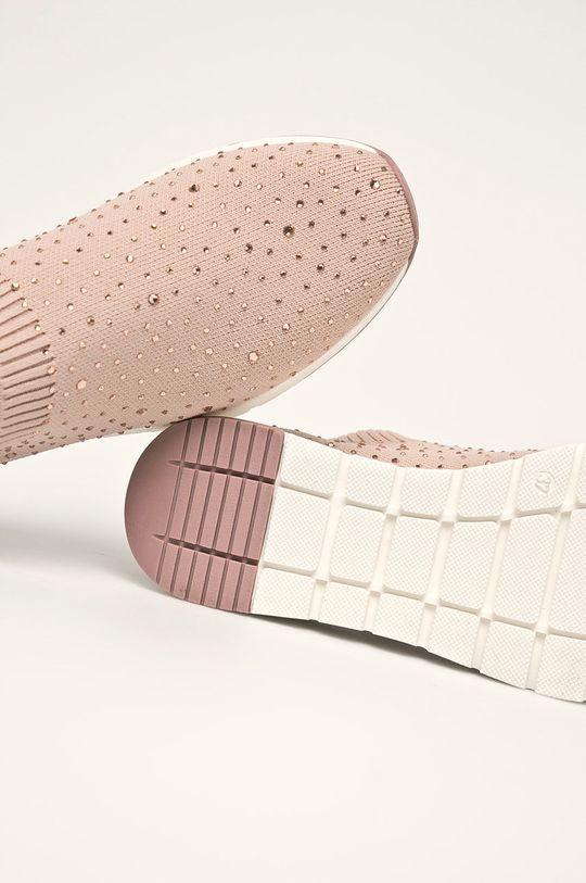 ružovo-červená Caprice - Topánky