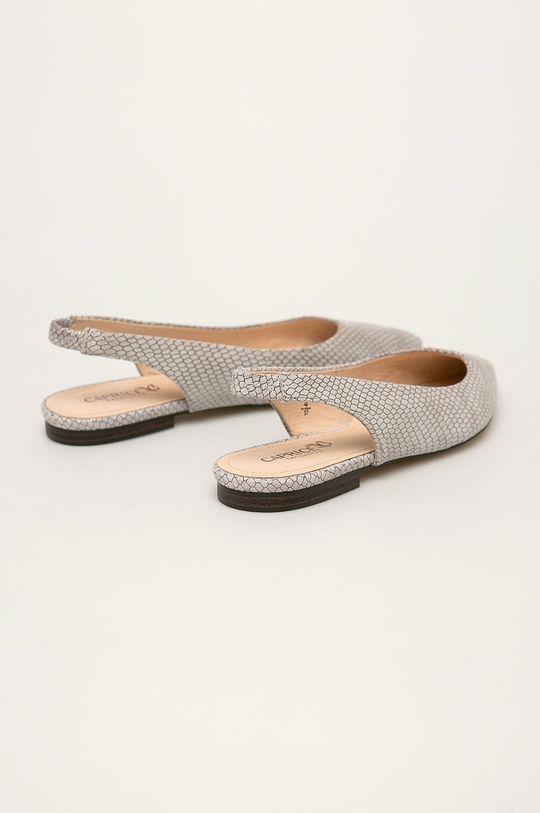 Caprice - Balerini de piele  Gamba: Piele intoarsa Interiorul: Piele naturala Talpa: Material sintetic