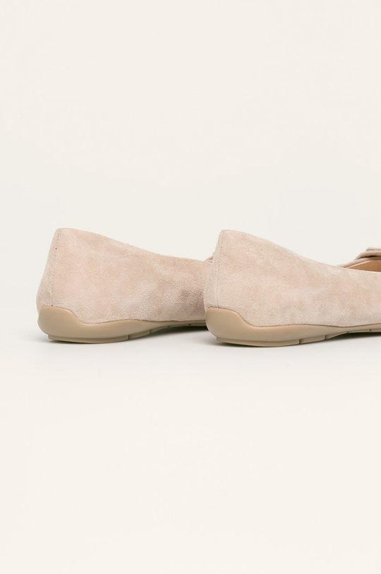 Caprice - Кожени балеринки  Горна част: Велур Вътрешна част: Синтетичен материал, Естествена кожа Подметка: Синтетичен материал