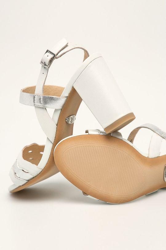 білий Caprice - Шкіряні сандалі