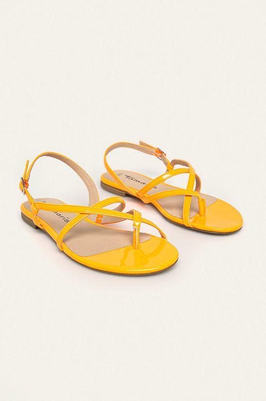 Tamaris - Sandále oranžová