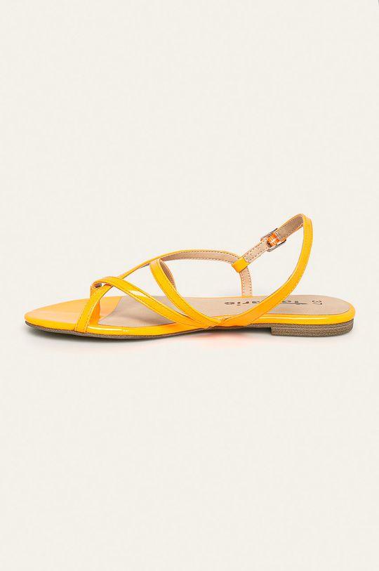 oranžová Tamaris - Sandále