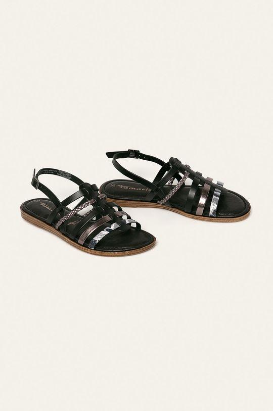 Tamaris - Sandały czarny
