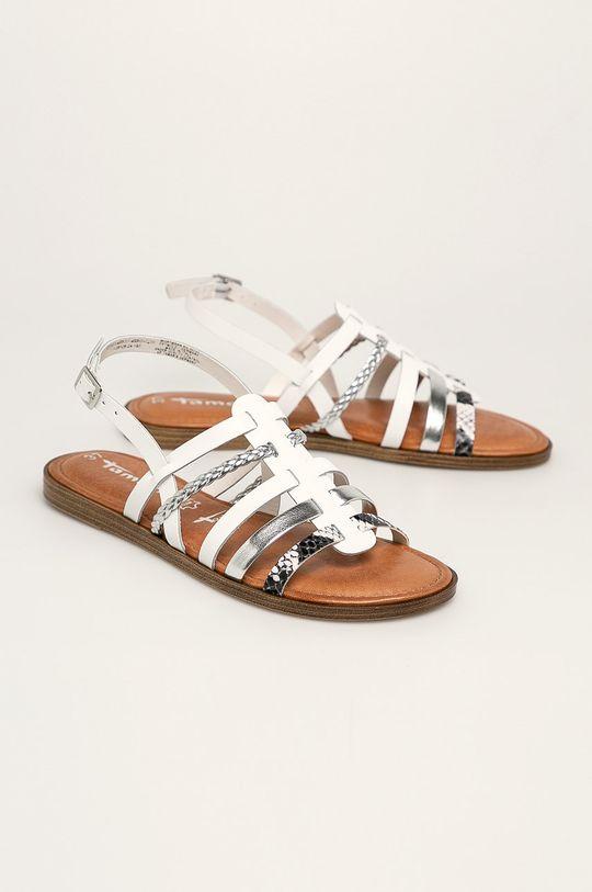 Tamaris - Sandały biały