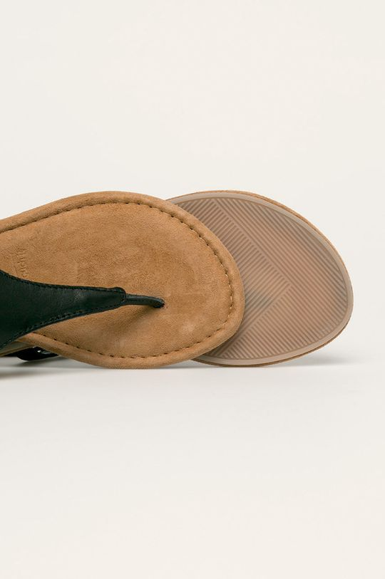 черен Tamaris - Кожени сандали
