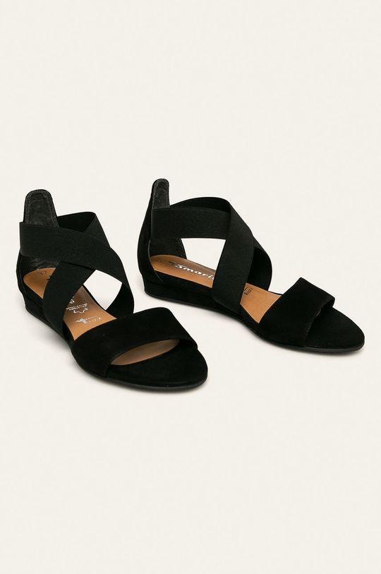 Tamaris - Sandále čierna