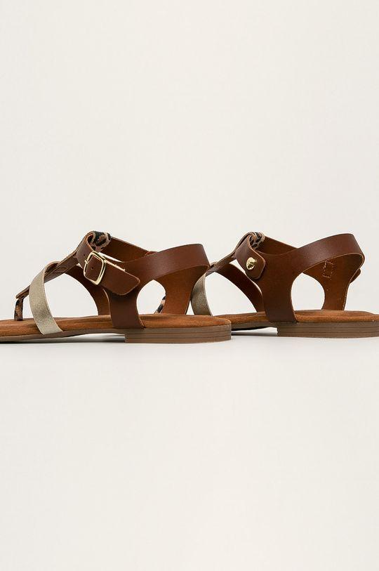 Tamaris - Kožené sandále  Zvršok: Prírodná koža Vnútro: Syntetická látka, Textil Podrážka: Syntetická látka