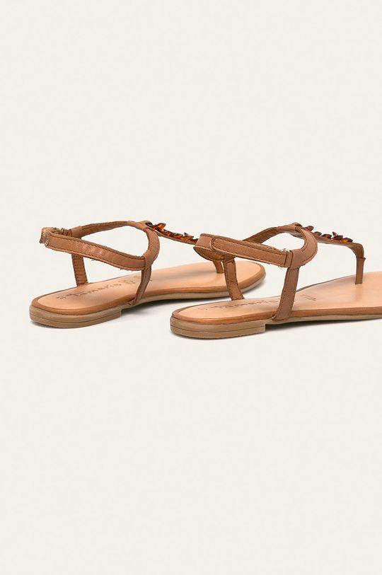 Tamaris - Sandały skórzane Cholewka: Skóra naturalna, Wnętrze: Skóra naturalna, Podeszwa: Materiał syntetyczny