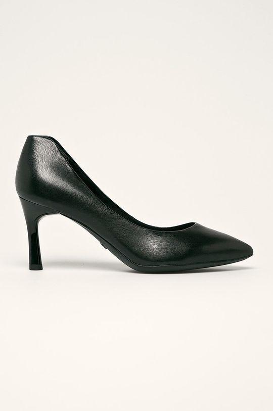 čierna Tamaris - Kožené topánky Chelsea Dámsky