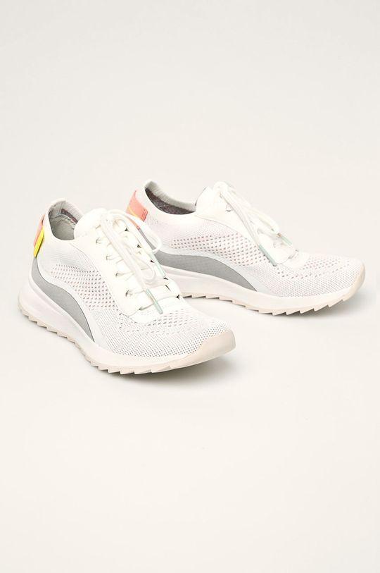 Tamaris - Pantofi alb