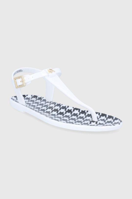 Armani Exchange - Sandále biela