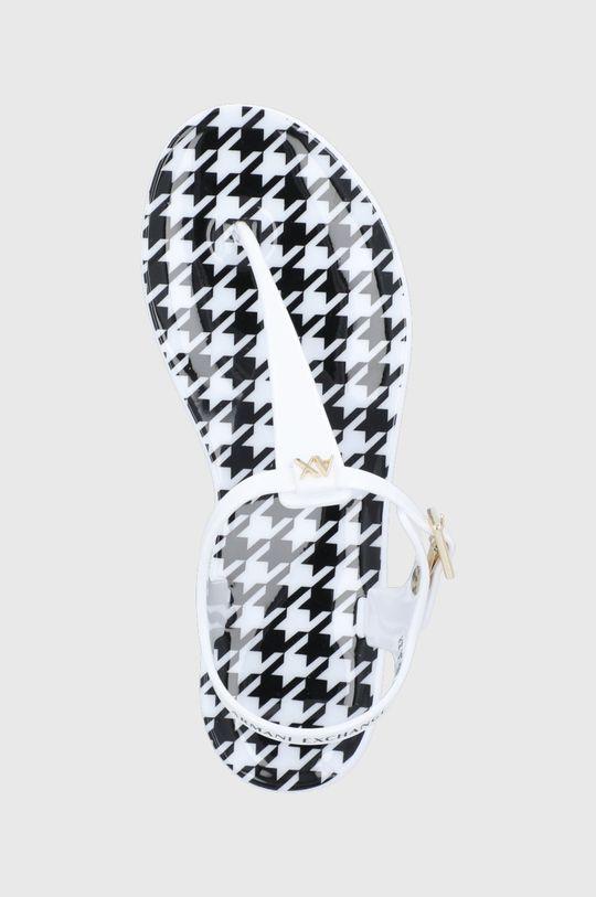 biela Armani Exchange - Sandále