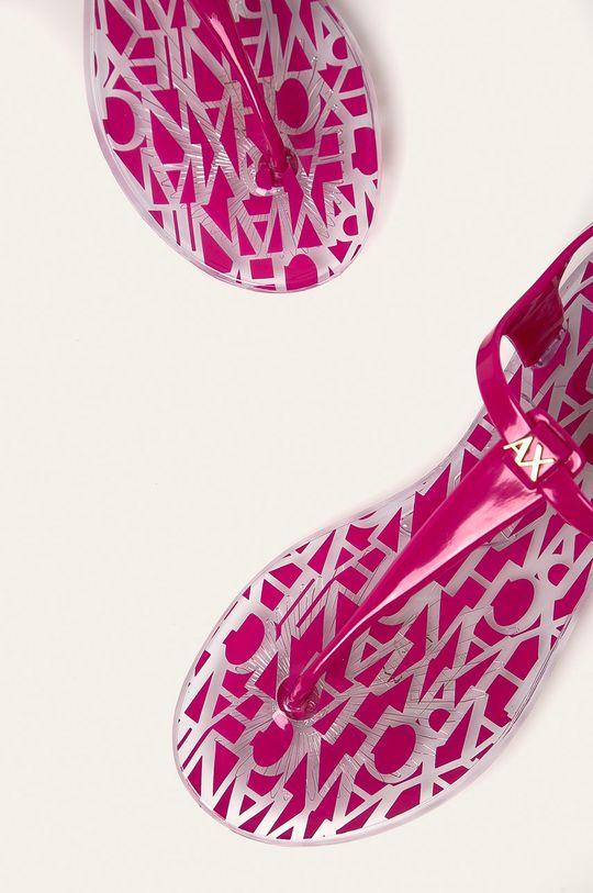 Armani Exchange - Sandále  Zvršok: Syntetická látka Vnútro: Syntetická látka Podrážka: Syntetická látka