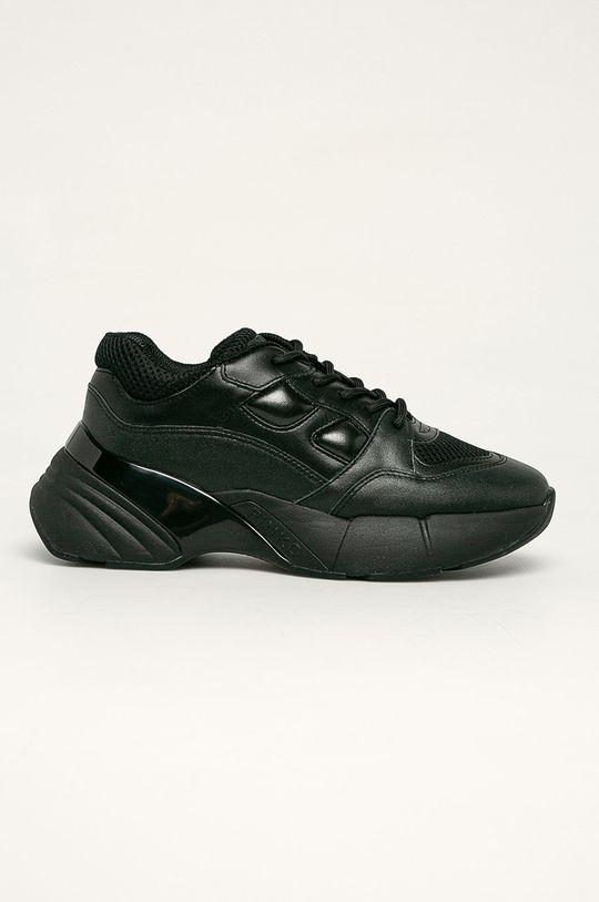 černá Pinko - Kožené boty Dámský