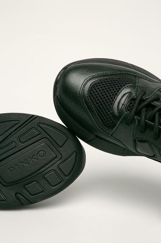 černá Pinko - Kožené boty
