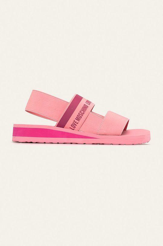 roz Love Moschino - Sandale De femei
