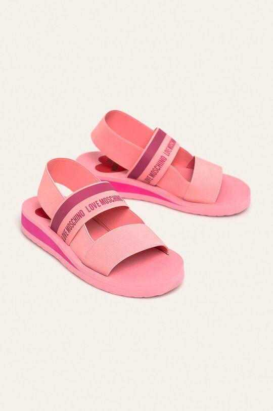 Love Moschino - Sandale roz