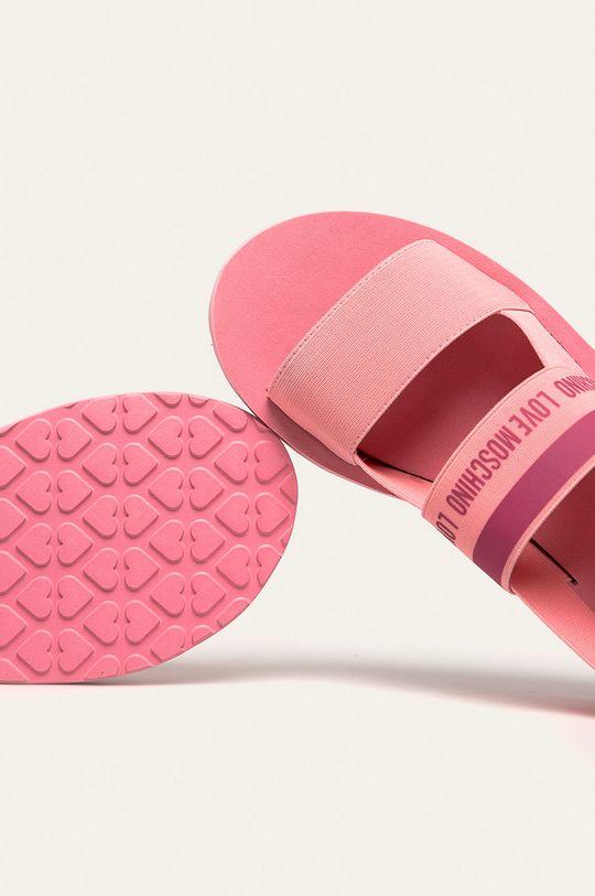 roz Love Moschino - Sandale