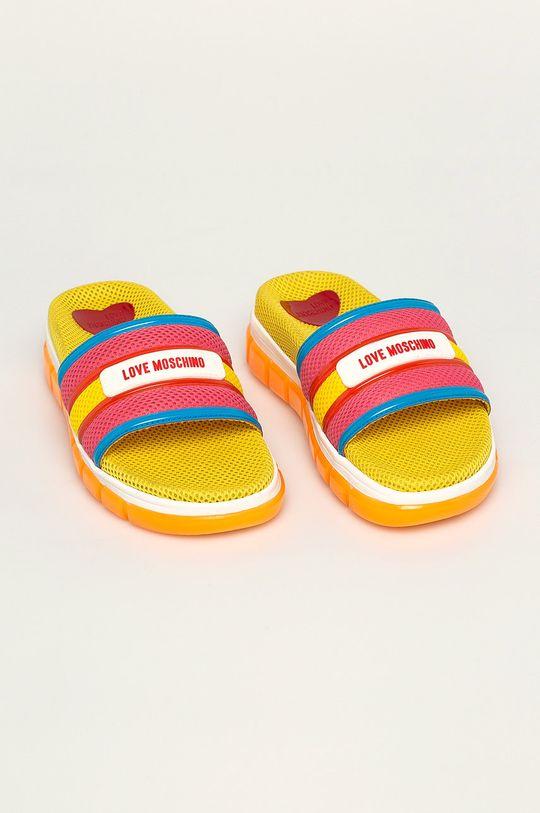 Love Moschino - Papuci multicolor