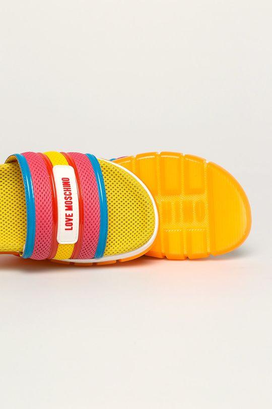 multicolor Love Moschino - Papuci