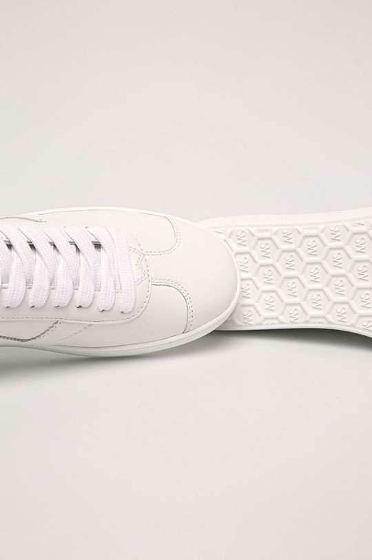 bílá Stuart Weitzman - Kožené boty Daryl
