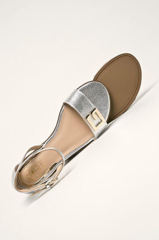 strieborná Guess Jeans - Sandále