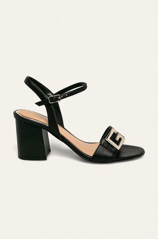negru Guess Jeans - Sandale de piele De femei