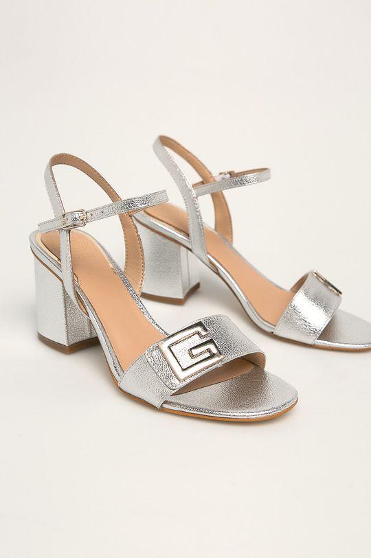 Guess Jeans - Sandale argintiu
