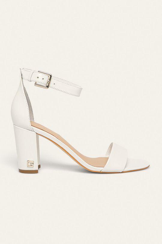 alb Guess Jeans - Sandale de piele De femei