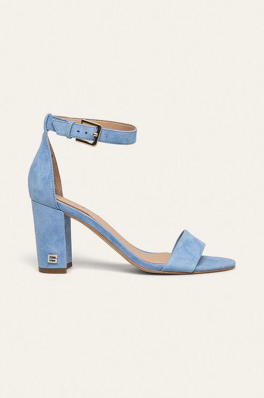 albastru Guess Jeans - Sandale de piele De femei
