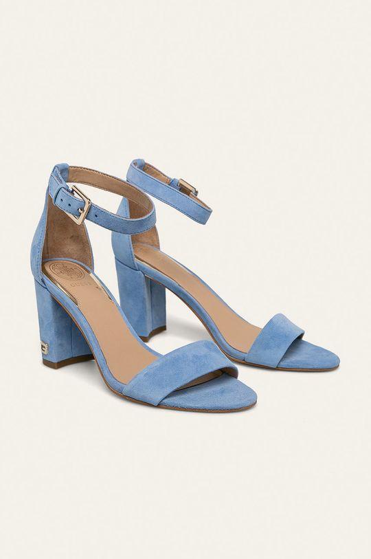 Guess Jeans - Sandale de piele albastru