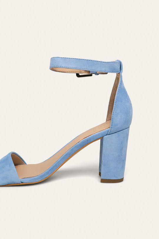 Guess Jeans - Sandale de piele  Gamba: Piele intoarsa Interiorul: Material sintetic, Piele naturala Talpa: Material sintetic