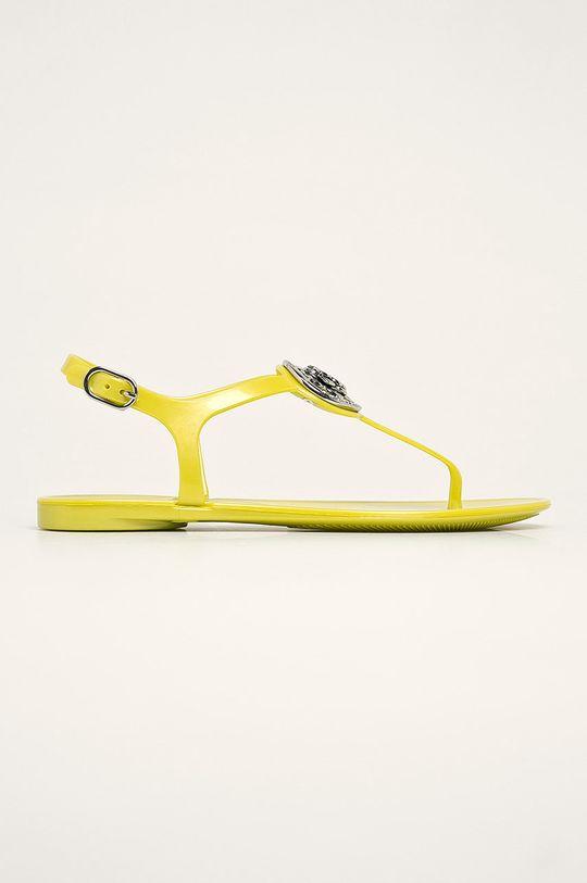 galben deschis Guess Jeans - Sandale De femei
