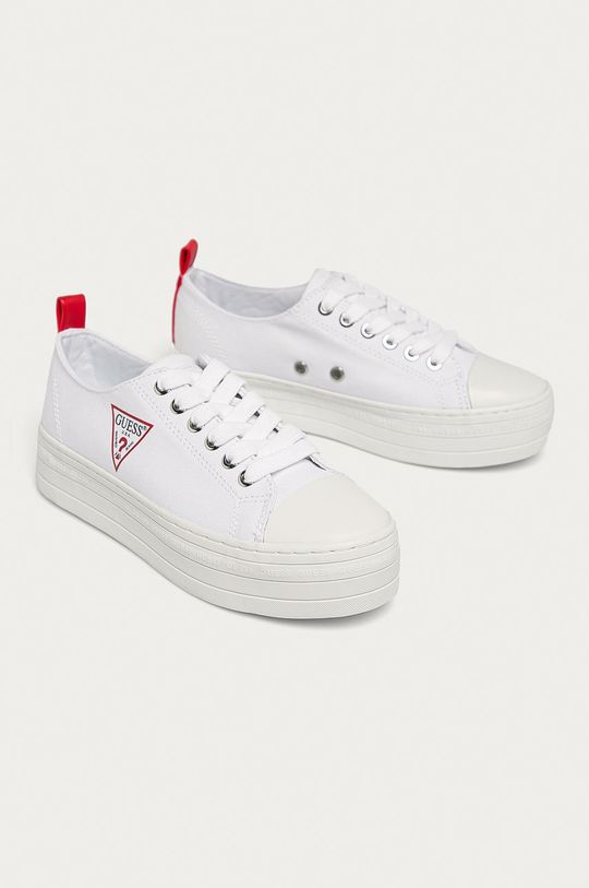 Guess Jeans - Tenisówki biały