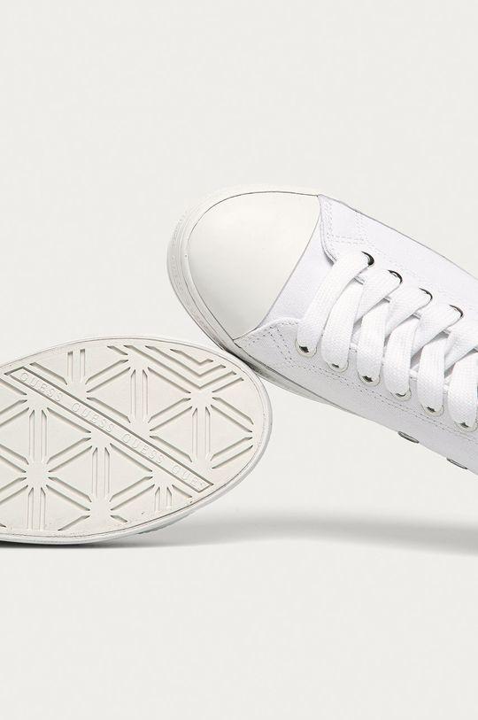 biały Guess Jeans - Tenisówki